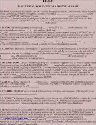 Simple Rental Agreement Where Can I Get A Rental Agreement Form Example Contemporary Example