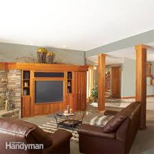 Basement Design Tool Gorgeous How To Finish A Basement Framing And Insulating The Family Handyman
