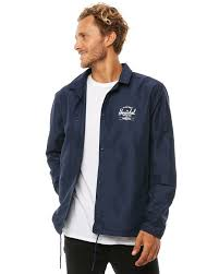new herschel supply co men s voyage coach mens jacket polyester