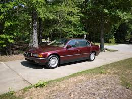99 BMW 740il Calypso Red 148k and garage remodel