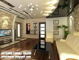 fall ceiling designs for living room modern false four design drawing