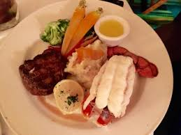 Filet Mignon And Lobster Tail Picture Of Chart House