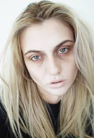 being becca look easy makeup to make you look dead generic dead looking makeup easy to alter to suit zombie ghoul ghost vire you name