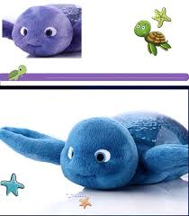 new al turtle night light sky star projection lamp led baby sleep nightlight home holiday party