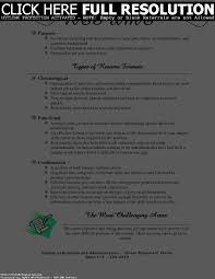 Different Resumes For Different Jobs Different Styles Of Resumes Resume For Study 49