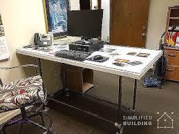 computer desk building computer desk lovely 20 diy desks that really work for your home