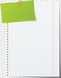 Graph Paper Notebook Sheet Transparent Background Png