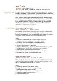 Credit Controller Cv Sample Managing Information Or General