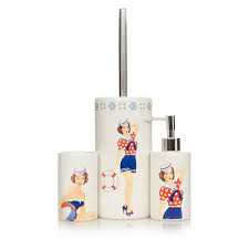 Accessories For The Bathroom Pin Up Girl Bathroom Accessories