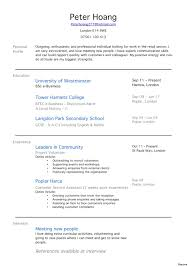 Job Resume Example For Highschool Students Template First Resumes My