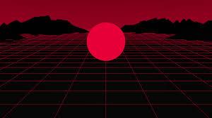Dark Red Aesthetic Desktop Wallpaper