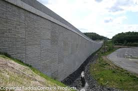 precast panel retaining wall cement ideas for covering
