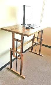 incredible diy adjule standing desk sit stand legs electric onsingularity diy adjule standing desk plan