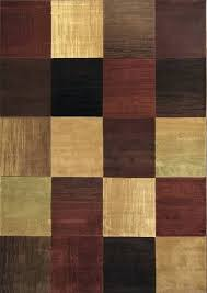 lofty rug square earth tone area modern abstract multi carpet actual 5 color ikea home depot