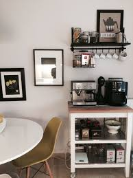 Kitchen Coffee Station Ikea Coffee Station Decor Pinterest Coffee Tea Station And