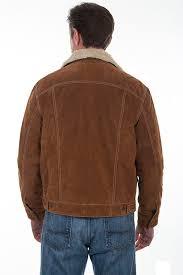 boar suede jean jacket