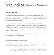 Basic Contract Outline Great Contract Templates Employment Construction Photography