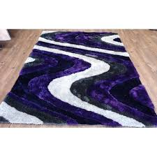purple and white area rugs clarion abstract design hand tufted purple white area rug purple black