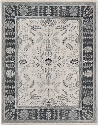 1895 restoration hardware nava taupe hand knotted persian rug 5x7 wool 1 of 2only 1 available see more
