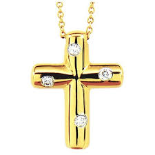 tiffany and co etoile diamonds cross