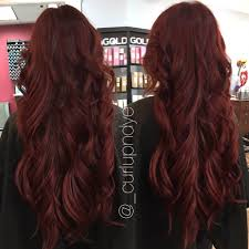 Long Red Hair Beach Waves