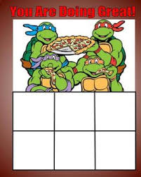 Ninja Turtle Potty Training Chart Ninja Behavior Chart Worksheets Teaching Resources Tpt