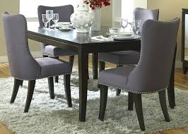Dining Table Set Upholstered Chairs Dining Table With Bench And Upholstered  Chairs Padded Dining Room Chairs