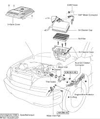 similiar 1999 lexus rx300 engine compartment diagram keywords 2002 lexus rx 300 engine diagram image wiring diagram engine