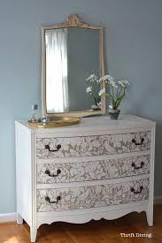 french fl damask stencil paint a dressersmall