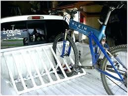 Truck Bed Bike Rack Diy Truck Bed Fork Mount Bike Rack ...