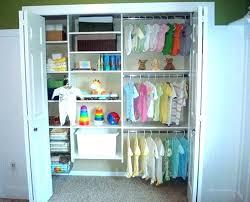 baby closet organizer gray pink ideas