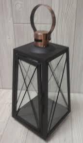 black copper lantern