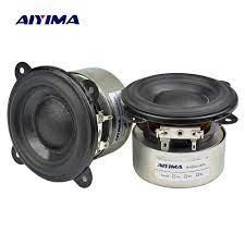 Aiyima 3 Inch 4 Ohm 20 W Full Range Speaker Woofer Bass Mid Tweeter  Neodymium Mobil Portabel Amplifier DIY Speaker|Speaker rak buku