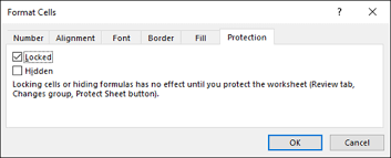 Protect A Worksheet Excel