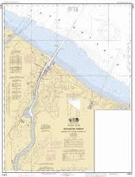 Ontario Nautical Charts Rochester Hbr Genesee Riv To Head Of Navigation Lake Ontario