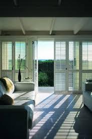 sliding glass door shutters interior