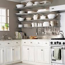 Small Picture Kitchen Wall Shelves Platinum elfa Kitchen Wall The Container