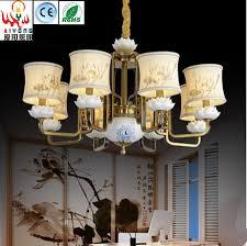 Chinesische Kupfer Led Wohnzimmer Kronleuchter Continental