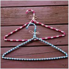 Make a special hanger for a gift. Tutorial at ThinkCrafts.com