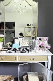 black white home office inspiration. this black white u0026 gold home office is filled with diy projects and inspiration that h