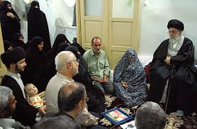 Image result for رهبر انقلاب در دیدار خانواده شهدا:  همه کشور و ملت مدیون شهدا و خانواده شهدا هستند