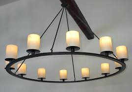 wrought iron candle chandeliers non electric wrought iron candle chandelier