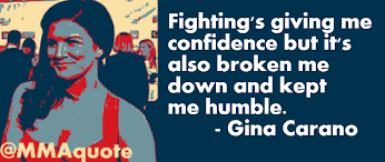 Mma Quotes Mesmerizing Motivational Quotes With Pictures Many MMA UFC Gina Carano On