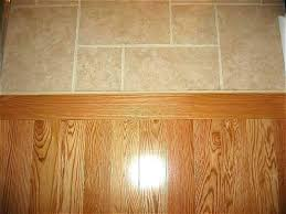 transition tile laminate from to wood photo floor images idea installing strip of flooring simple trans