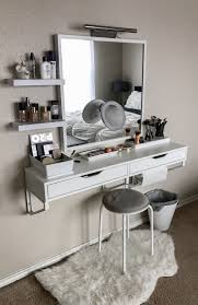 vanity table for small space. my battle station! : makeupaddiction more eyebrow makeup tips vanity table for small space