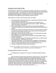 Sample Business Plan Report Simple Business Summary Template