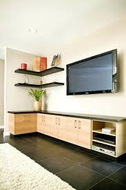 Living Room Corner Storage Units Living Room Furniture Leather Large