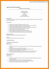 8 truck driver resume examples truck driver resume
