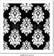 Damask Pattern Free Free Art Print Of Vector Damask Pattern Vector Floral Pattern