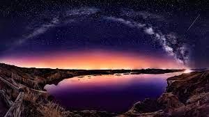 305063 Landscape, Night, Sky, Stars ...